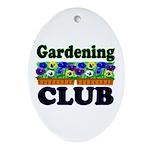 Gardening Club Oval Ornament