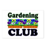 Gardening Club Postcards (Package of 8)