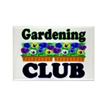 Gardening Club Rectangle Magnet (10 pack)