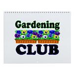 Gardening Club Wall Calendar