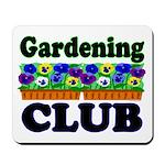Gardening Club Mousepad