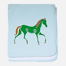Celtic Horse baby blanket