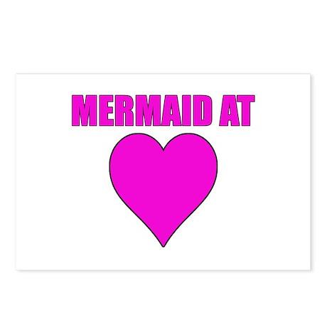 Mermaid at heart Postcards (Package of 8)