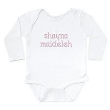 Shayna Maideleh Long Sleeve Infant Bodysuit