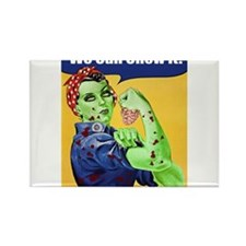 Zombie Rosie the Riveter - You Can Chew It! Rectan