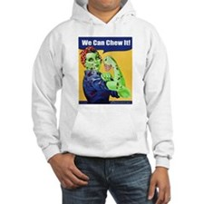 Zombie Rosie the Riveter - You Can Chew It! Hoodie