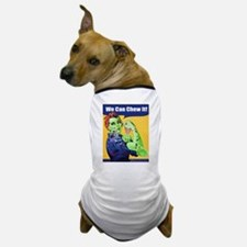 Zombie Rosie the Riveter - You Can Chew It! Dog T-