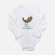 My First Rosh Hashanah Long Sleeve Infant Bodysuit