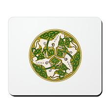 Celtic Horse Disc Mousepad