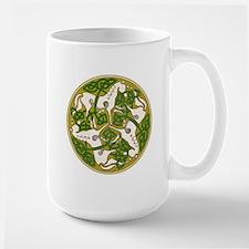 Celtic Horse Disc Large Mug