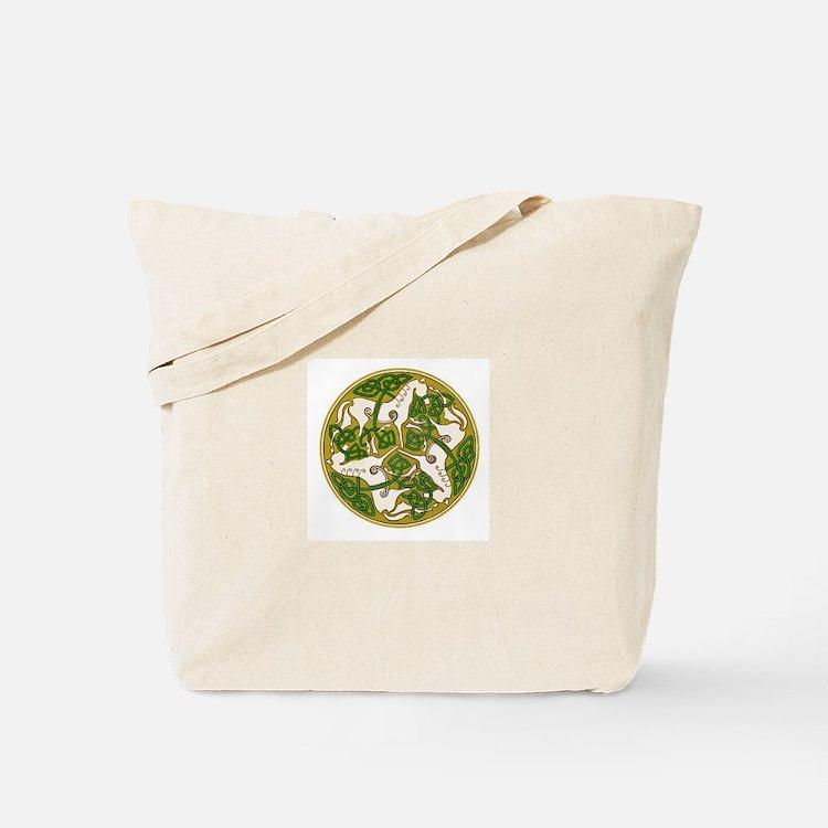 Celtic Horse Disc Tote Bag