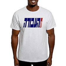 Labor (HaAvodah) Ash Grey T-Shirt