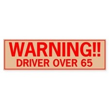 over65.png Bumper Sticker