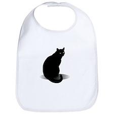 Basic Black Cat Bib
