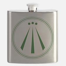 Awen Green Flask