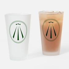Awen Green Drinking Glass