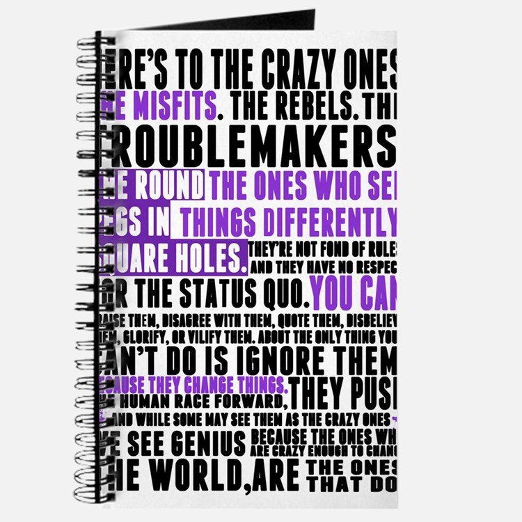 Heres to the Crazy Ones Journal
