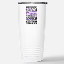 Heres to the Crazy Ones Travel Mug