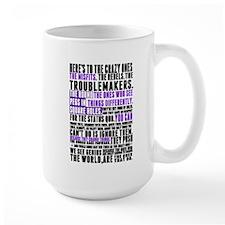 Heres to the Crazy Ones Mug