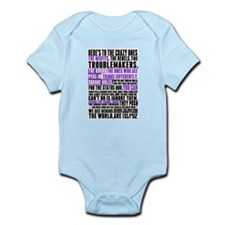 Heres to the Crazy Ones Infant Bodysuit