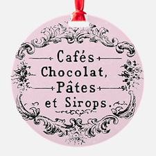 cafe Ornament