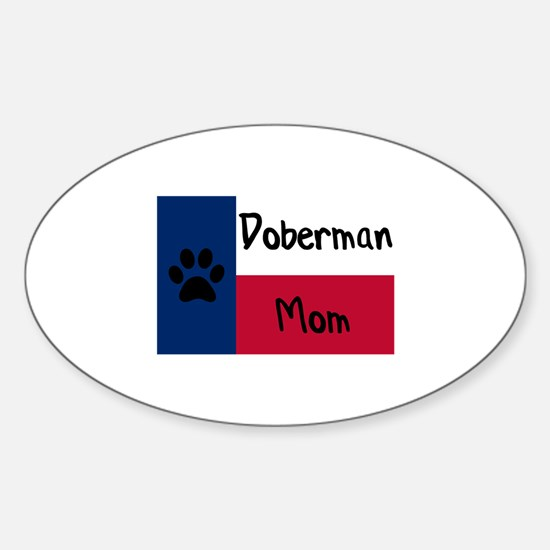 Doberman Mom Decal