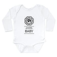 "Dharma Initiative ""Baby"" Long Sleeve Inf"
