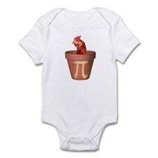 Chicken Pot Pi Infant Creeper