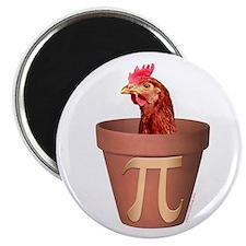 Chicken Pot Pi Magnet