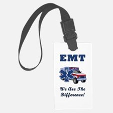 EMT We Are The Difference Luggage Tag