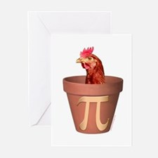 Chicken Pot Pi Greeting Cards (Pk of 10)