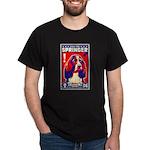 Obey the SPRINGER Spaniel! Black T-Shirt