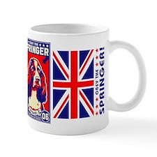 Obey the SPRINGER Spaniel! Coffee Small Mug