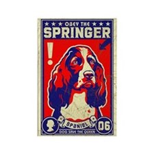 Obey the SPRINGER Spaniel Vintage Magnet
