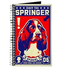 Obey the SPRINGER Spaniel! Journal