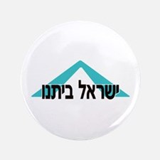 "Our Home: Yisrael Beiteinu 3.5"" Button"