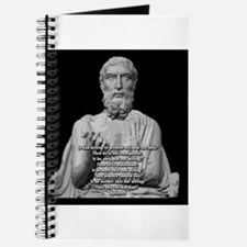 Epicurus God Quote Journal