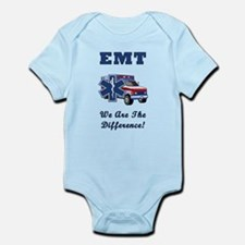 EMT We Are The Difference Infant Bodysuit