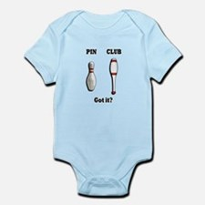 Pin. Club. Got it? Infant Bodysuit