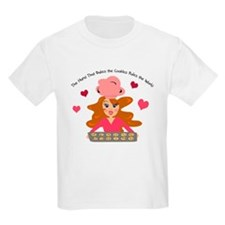 Cute Baker Girl Graphic T-Shirt