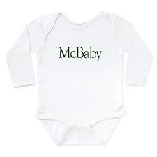 McBaby (Irish Baby) Long Sleeve Infant Bodysuit
