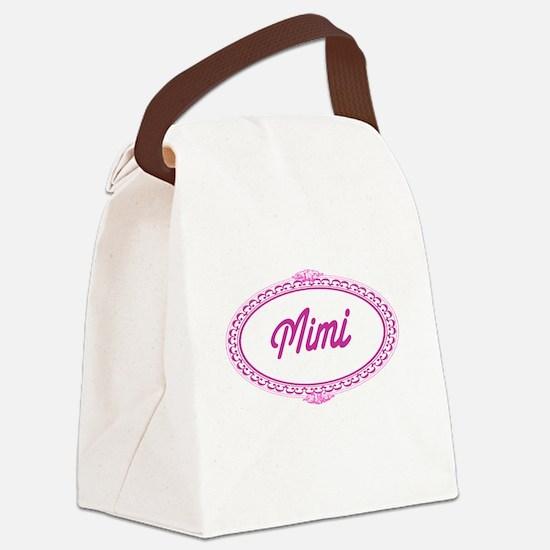 Mimi Framed Canvas Lunch Bag
