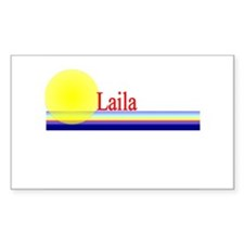 Laila Rectangle Decal