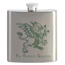 The Verdant Gryphon Flask