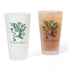 The Verdant Gryphon Drinking Glass