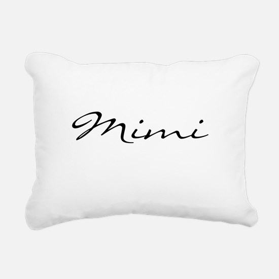Just Mimi Rectangular Canvas Pillow