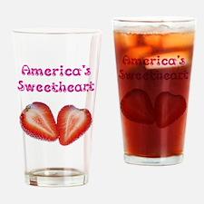 America's Sweetheart Drinking Glass
