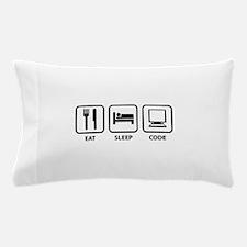 Eat Sleep Code Pillow Case