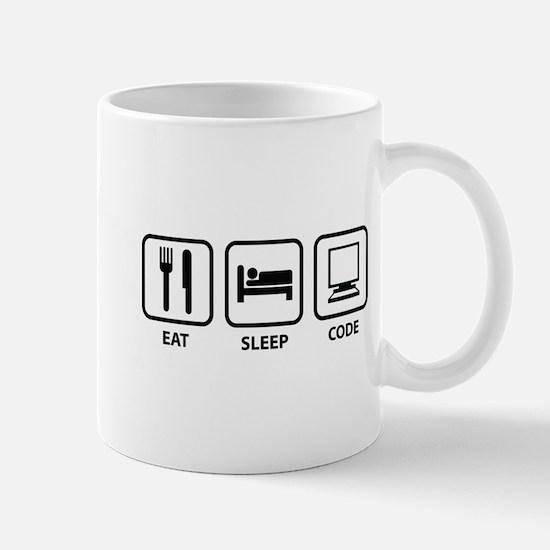 Eat Sleep Code Mug
