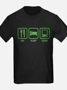 Eat Sleep Code T